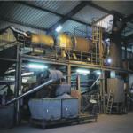 Kehrbaum Carbon Prozess - Drehrohr Trocknungsanlage