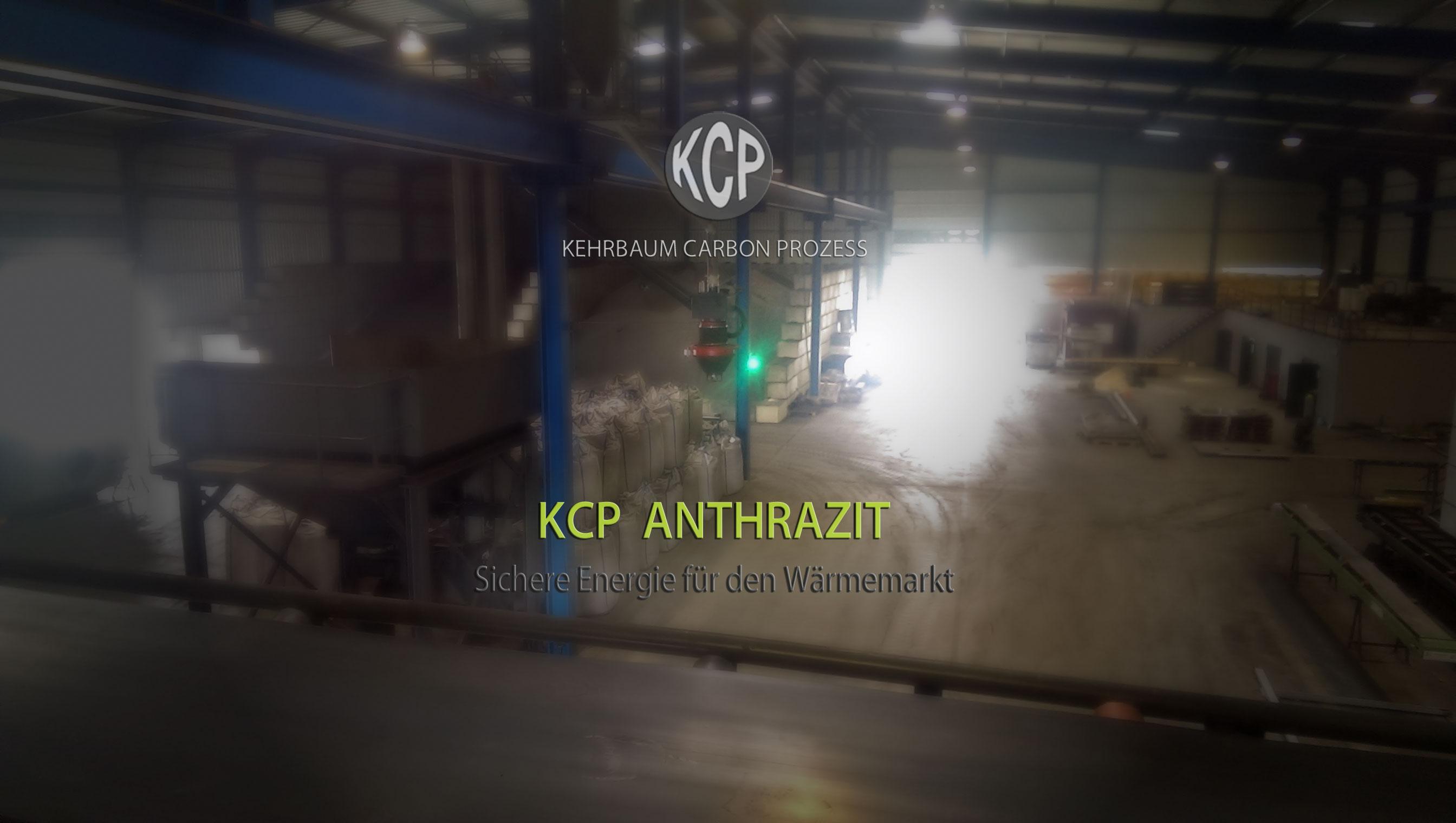 Verladestation im Werk 2 zur Beladung von KCP ANTHRAZIT