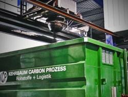 Kehrbaum Carbon Prozess - Anthrazitkohle Nuss 5 Verladung im Werk II ex Aufbereitungsanlage