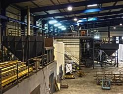 KCP Aufbereitungswerk II - V-Anthrazit-Bunker für Omnical-Heizkessel